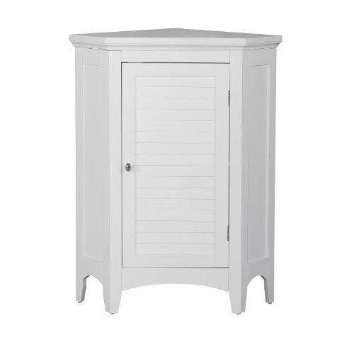 Versanora ELG-586 Badezimmer-Fußboden-Kabinett, MDF, Weiß, 62.87 x 43.18 x 81.28 cm