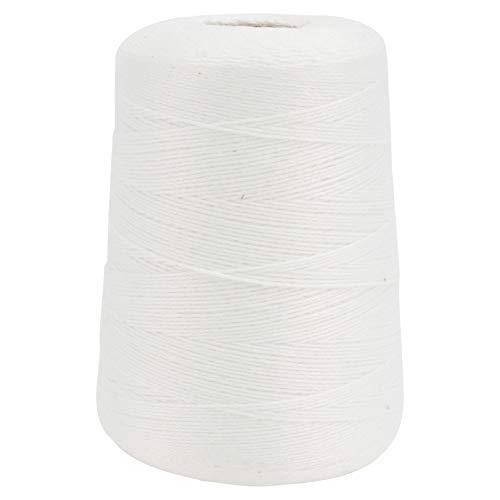 DOITOOL - Rollo de red de 500 m para carnes de algodón, calcetín de jamón, red elástica para carnes y aves de corral, cordel, red de cocina, para carnes, salchichas y suministros