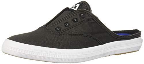 Keds Women's Moxie Mule Slip On Sneaker, Charcoal, 9.5