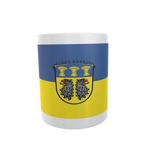 U24 Tasse Kaffeebecher Mug Cup Flagge Karben