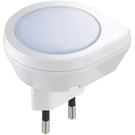 VIMAR 0A33101 Luce Notturna LED con sensore crepuscolare 220-230V 0,4W, 0.4 W, Bianco