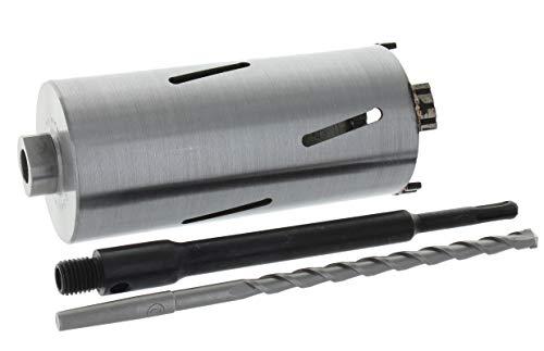 Diamant Bohrkrone SDS-plus lang (200mm) Aufnahme und Zentrierbohrer Nutzlänge 180 mm Ø 68 mm Betonbohrkrone Kernbohrer