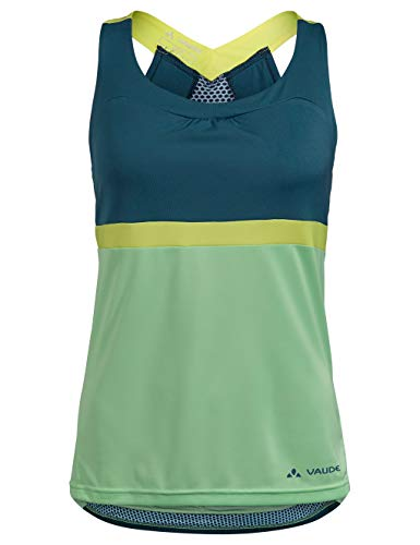 VAUDE Women's Advanced Top Maillot Femme Baltic Sea FR: Taille Unique (Taille Fabricant: 42)