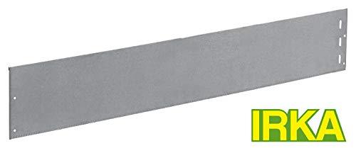 IRKA Rasenkante extrastark 18 cm hoch STÄRKE 1 MM mit einzigartiger Versteifungskante