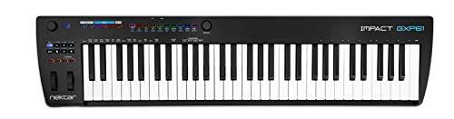 Nektar Impact GXP61 USB MIDI Controller Keyboard with Nektar DAW Integration