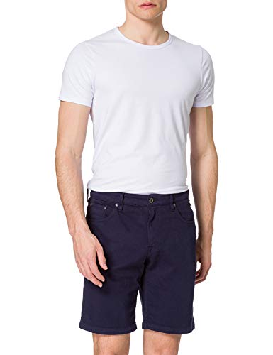 Hackett London Jean Shorts Pantalones Cortos para Hombre