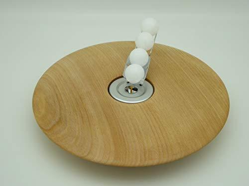 Kerzenhalter Kerze Wachskugeln Buche Holz Edelholz Teelichthalter