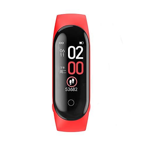 YESIAM Correa para Xiaomi mi Band 4 Pulsera de Fitness Inteligente Monitor de Ritmo Cardíaco Bluetooth 5.0 Rastreador de Actividad Reloj Deportivo para Android e iOS ( Reciente 2019 )