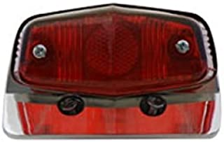V-Twin 33-0617 Chrome Sport Tail Lamp Assembly Lucas Style