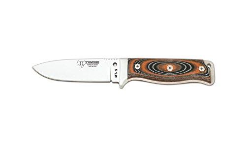 Cudeman Adultes Survival Rouge/Noir Micarta Rouge avec Liner, Longueur de la Lame : 11 cm, Couteau de 1044 cudm, Non renseigné