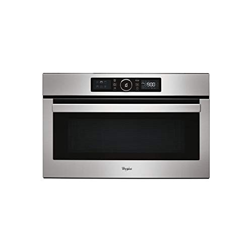 Whirlpool AMW730IX Absolute 31 Litre Built-in Microwave and Grill - Stainless Steel