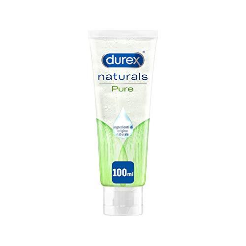 Durex Naturals Gel Lubrificante con 100% Ingredienti Naturali, 100 ml