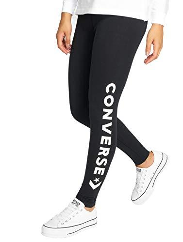 Converse Damen Wordmark Leggings, schwarz, S