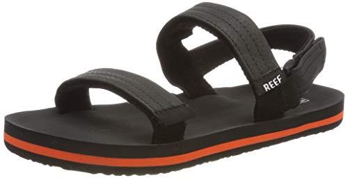 Reef Boys Little Ahi Convertible Flip Flops, Multicolour (Grey/Orange Gor),...