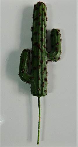 plant Cactus Artificielle Tige de Cactus pour intérieur - H. 30cm