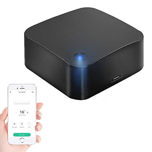 Mando a distancia universal WiFi Smart IR, Smart IR Remote para aire acondicionado, TV, etc, aplicación Tuya/Smart Life, compatible con Alexa/Echo, Google Home