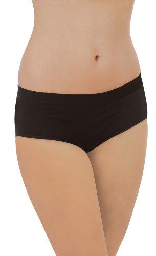 Carriwell Slip Confort sans Couture - Bio - Noir - Taille Xl