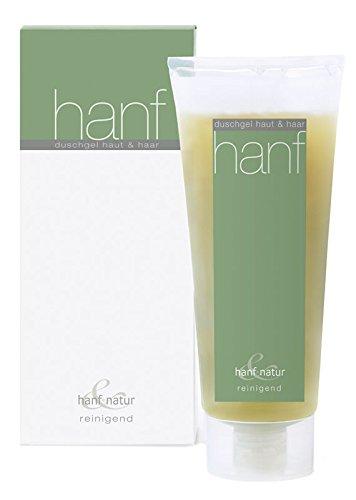 Hanf & Natur - Gel douche au chanvre - Nettoyant - 230 ml