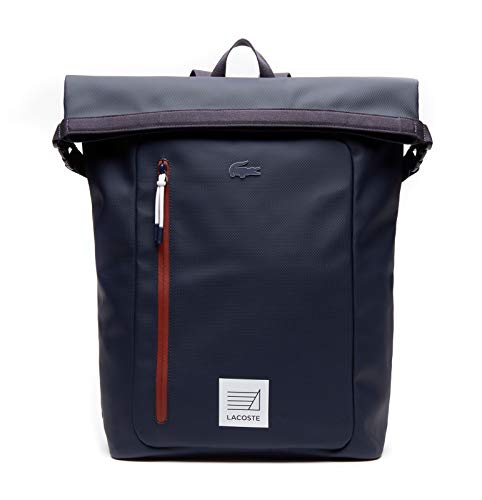 Lacoste L.12.12 Concept Roll Backpack Peacoat Henna