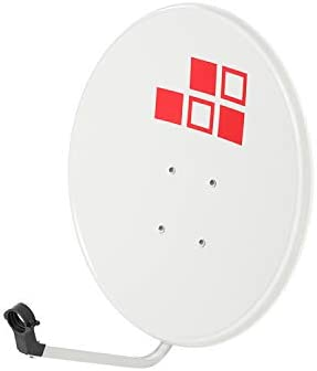 Diesl.com - Kit Antena parabolicas de Television satelite Digital - 60cm + LNB Single 4k + Soporte SP30