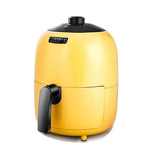 Mini freidora de aire, freidoras de aire eléctricas de 2,5 l, horno, cocina sin aceite con control de temperatura preciso, circulación de aire de 360 °, sartén antiadherente, fácil limpieza, 1000 W