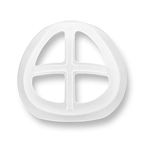 3Dインナーマスク シリコンフレーム/化粧崩れ防止 口紅の保護/立体インナーマスク/呼吸スペース 息苦しさ解消/3枚入