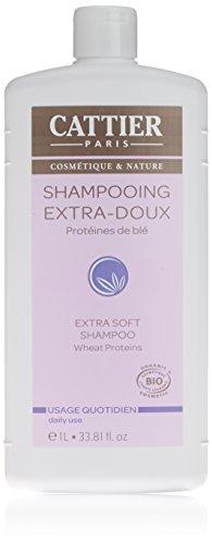 Cattier Shampoo, extraweich, für den täglichen Gebrauch, 1 l