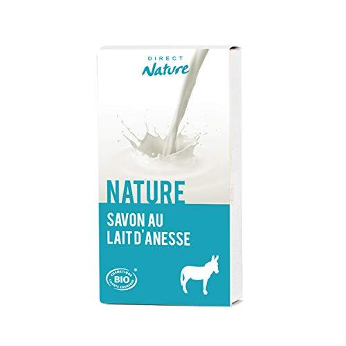 Savon au lait d'anesse Neutre 100g certifié Bio*