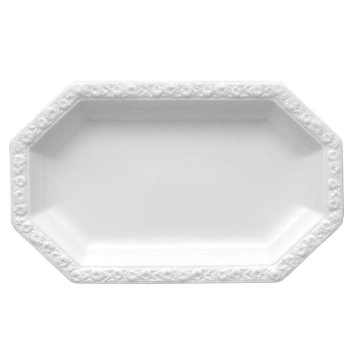 Rosenthal 10430-800001-12728 - Piatto da Portata Maria, 28x17 cm, Colore: Bianco
