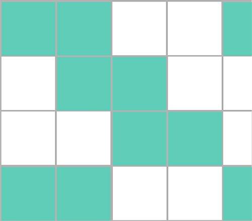 Stickerkoenig Adhesivo para azulejos, 20 x 20 cm, para baño, cocina, 20-300 unidades, 28 colores a elegir