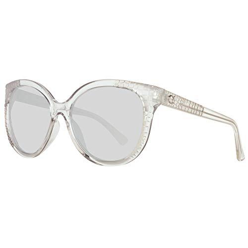 Guess Sonnenbrille Gu7402 26C 57 Gafas de sol, Blanco (Transparente), 57.0 para Mujer