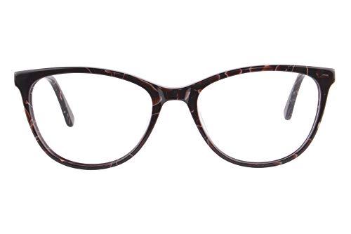 KUDEE Gafas de lectura progresivas de enfoque múltiple con marco de impresora 3D para mujer, C2 Red...