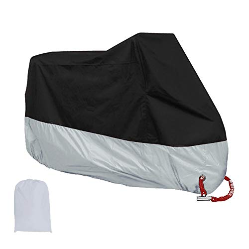 Cubierta del Motor Protector al Aire Libre Impermeable Impermeable Manta a Prueba de Lluvia Lluvia de la Motocicleta Paño de Moto a Prueba de Polvo para Todas Las Estaciones