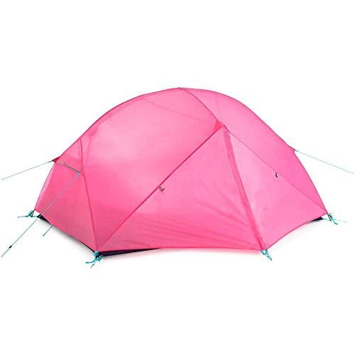 TYUIOO Tiendas de campaña/Carpa con Sala de Pantalla Doble Polo de Aluminio Tienda al Aire Libre Doble Impermeable Tienda de campaña Camping Senderismo Picnic Tent Tienda para Acampar