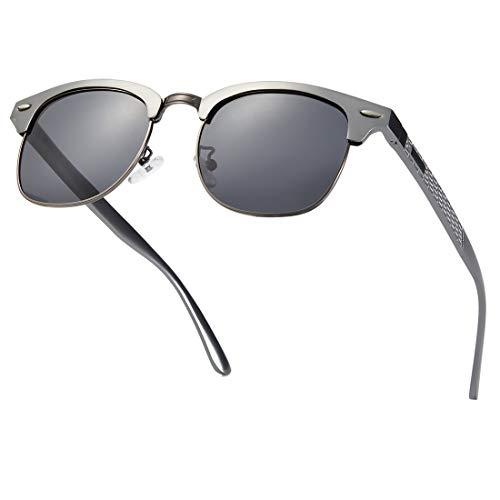 Muco Guide gepolariseerde zonnebril voor dames, retro spiegel, uv-blokkering