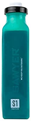 Sawyer Products SP4121 Replacement Select S1 Water Filtration Bottle for Chemicals and Pesticides, Teal