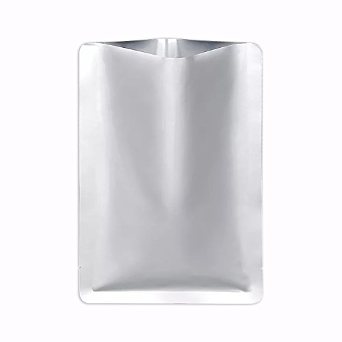 SumDirect 100PCS 5.9x8.6inches Mylar Bags Thick Food Storage Pouches for Long Term Food Storage Cooking Steaming
