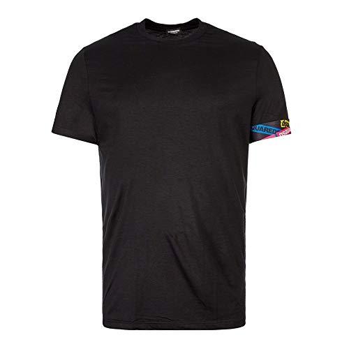 DSQUARED2 Ondergoed Eenvoudig Zwart T-shirt