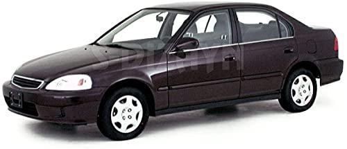 Para Civic 1996 – 2002 cromo ventanas marco cubierta de acero inoxidable 4 piezas