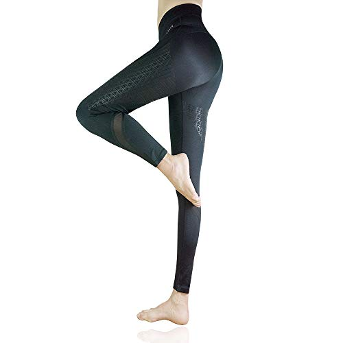 CLOSKIN® Leggings deportivos para mujer, pantalones de yoga elásticos para fitness