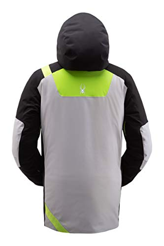 Spyder Men's Tordrillo Gore-Tex Ski Jacket – Male Full-Zip Hooded Winter Coat
