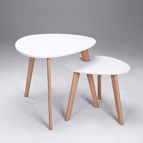 NA eenvoudige moderne houten woonkamer koffietafel, bank tafel, mini ronde tafel creatieve thee tafel/computer tafel/twee combinaties