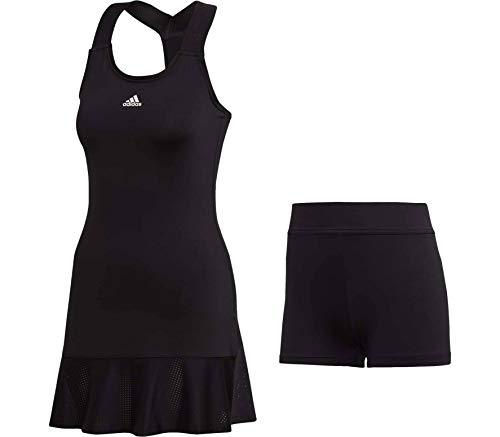 adidas Y Damen Tenniskleid schwarz - L