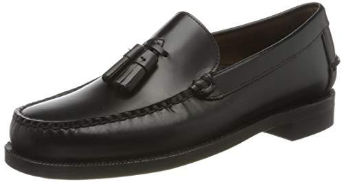 Sebago Classic Will, Mocasines Loafer Hombre, Negro