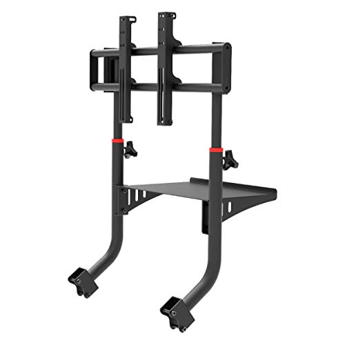 """Extreme Sim Racing Tv Stand Add-on Upgrade for Wheel Stand SXT V2 - Fits only SXT V2 - Suitable for TV sizes up to 50"""""""