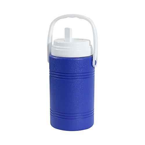 Aobeau Botella de agua de tamaño extraXXL, para camping, exterior, senderismo, bicicleta, sin BPA, superficie de agua, botella aislante