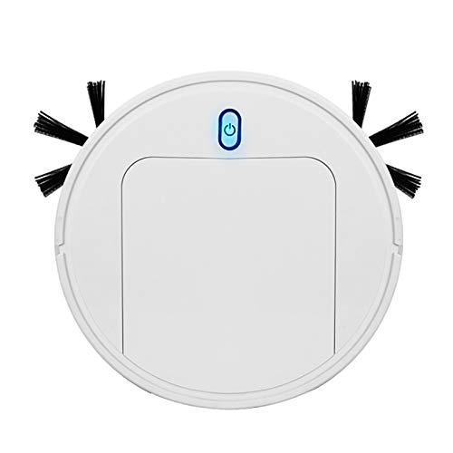 YYSYN Robot Aspirador con Robots Apiradors De,con Tecnología Sensor De Colisión,Ideal para Pelo De Animales, Alfombras Y Suelos Duros