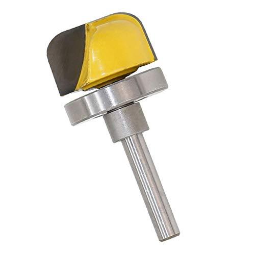 1/4inch Shank Diameter Bowl Router Bit Set Dish Tray Carving Woodwork DIY - Industrial Grade Micro Grain Carbide Blade