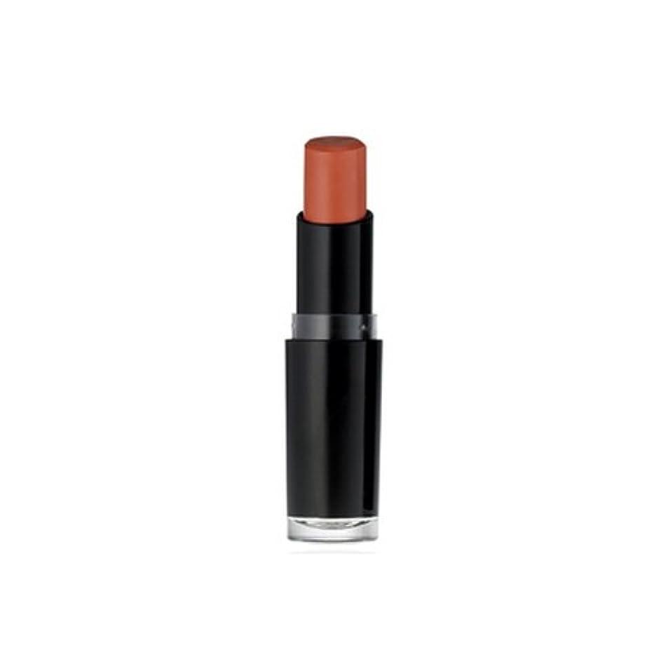 フロー才能持っている(6 Pack) WET N WILD Mega Last Matte Lip Cover - Just Peachy (並行輸入品)