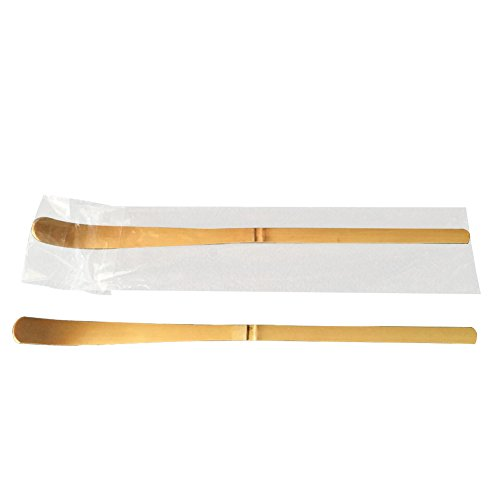 Milopon Matcha Teelöffel Bambus Pulver Scoop Teaware Teezeremonie Zubehör Holz 18 * 1CM 2PCS